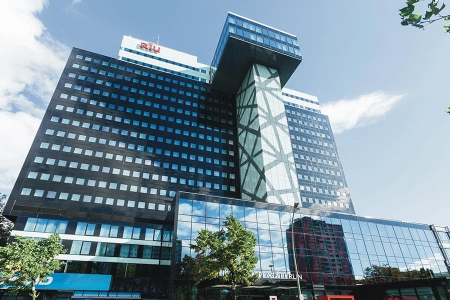 Riu Plaza Berlin Ansicht