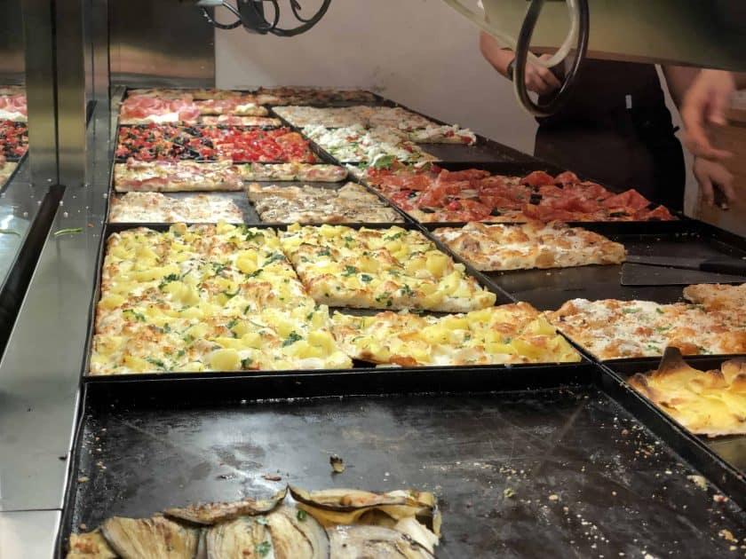 Rom Pizza Blech