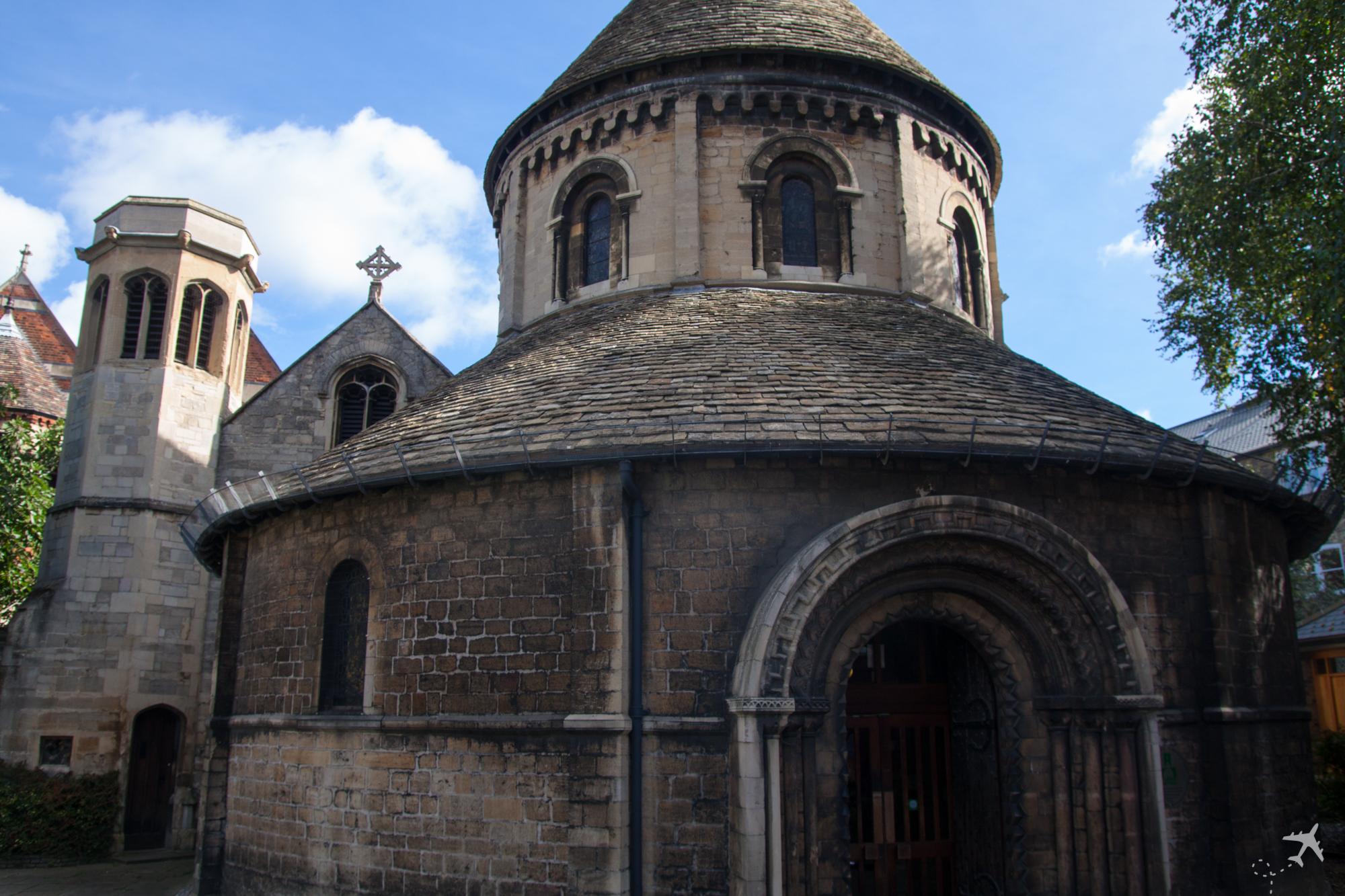 Round Church - Church of the Holy Sepulchre, Cambringe, Großbri