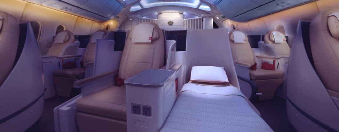 Royal Jordanian Business Class Boeing 787