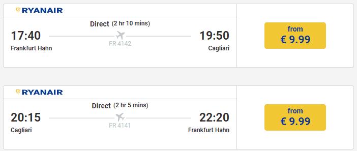 Ryanair HHN CAG