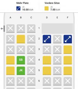 Ryanair Seatmap App