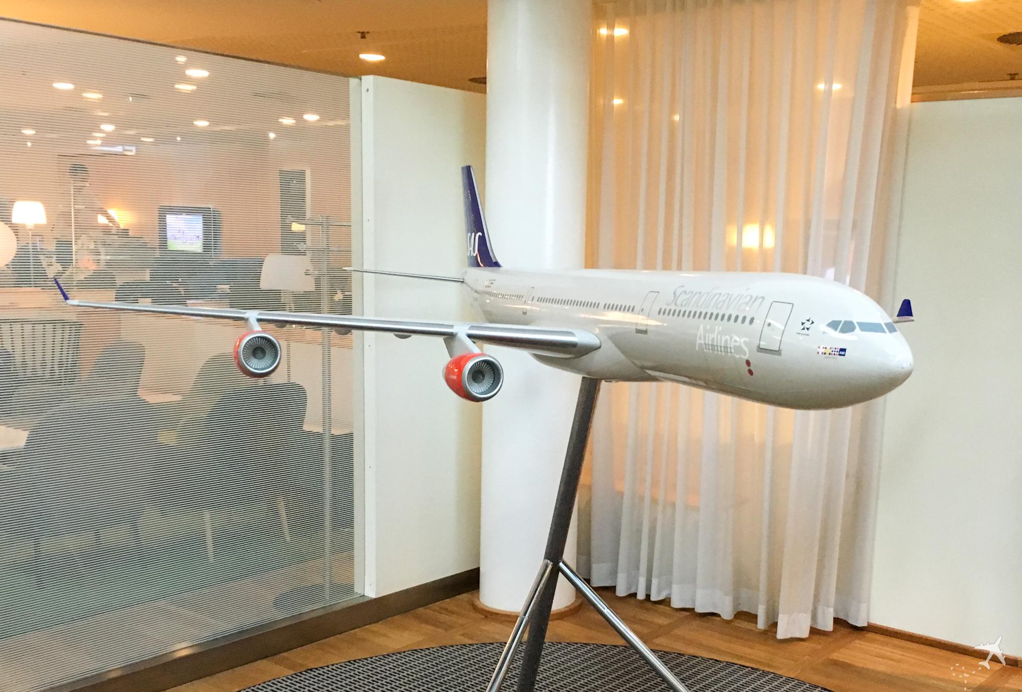 SAS Airbus A340 Modell