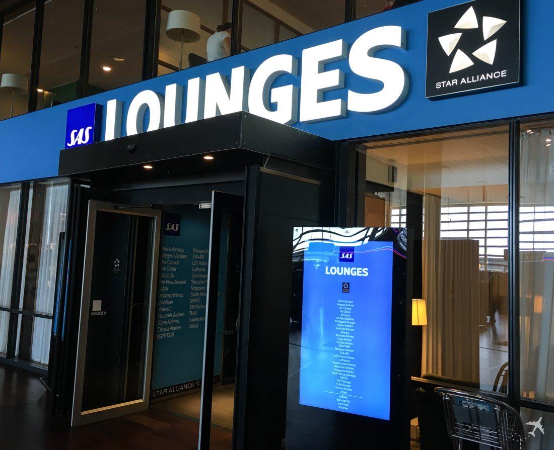 SAS Lounge Kopenhagen