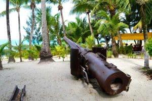 Artillerie auf Saipan