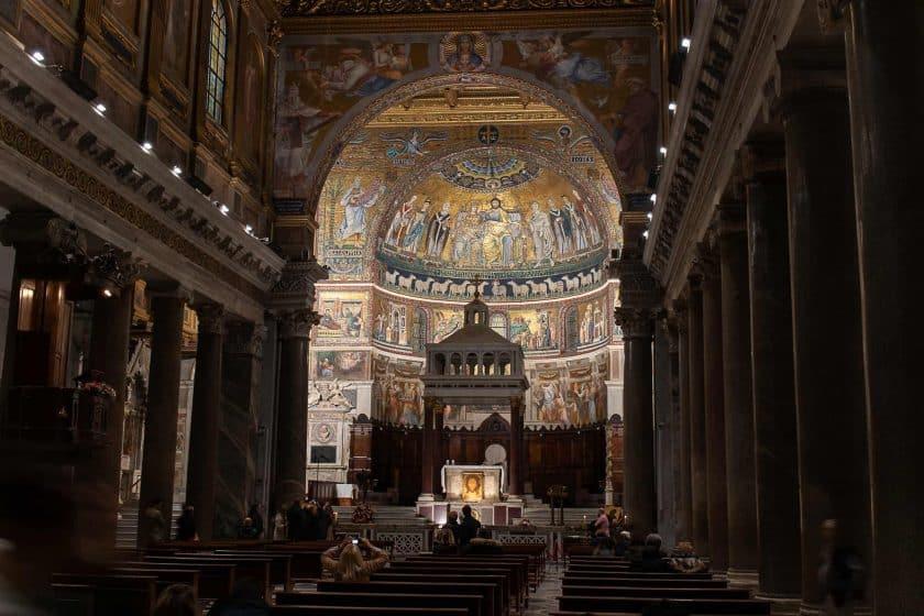 Santa Maria Trastevere Rom