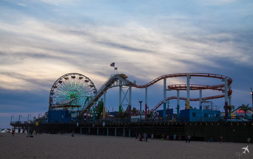Santa Monica Pier, Kalifornien, USA