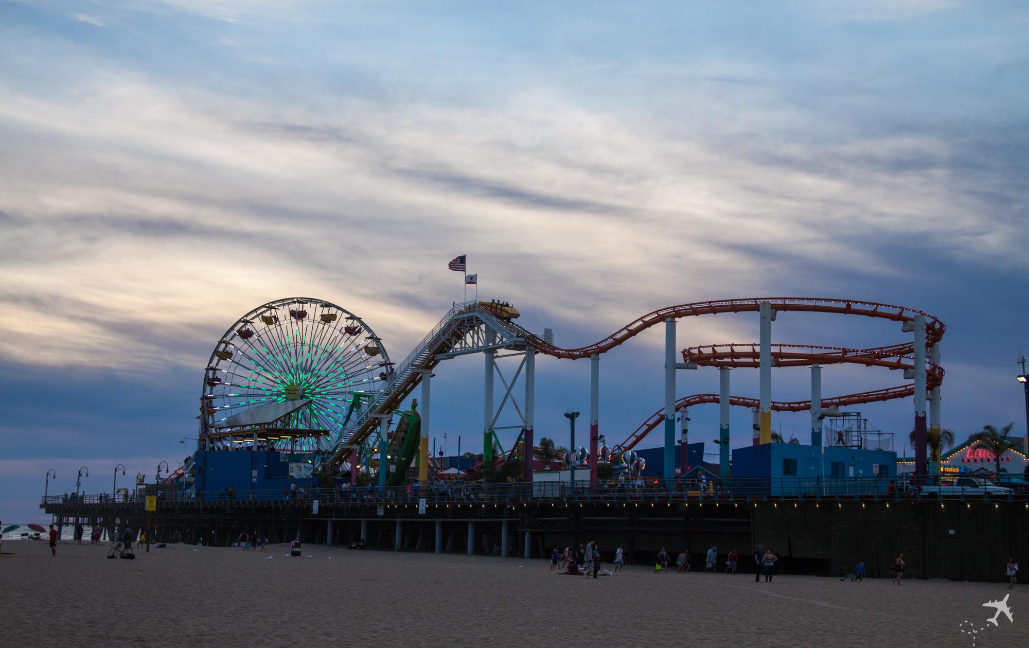 Santa Monica Pier, Kalifornien, USA