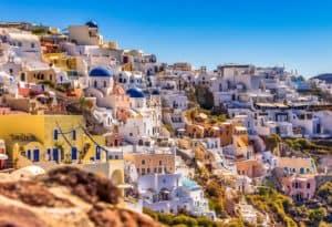 Santorini Oia Dorf