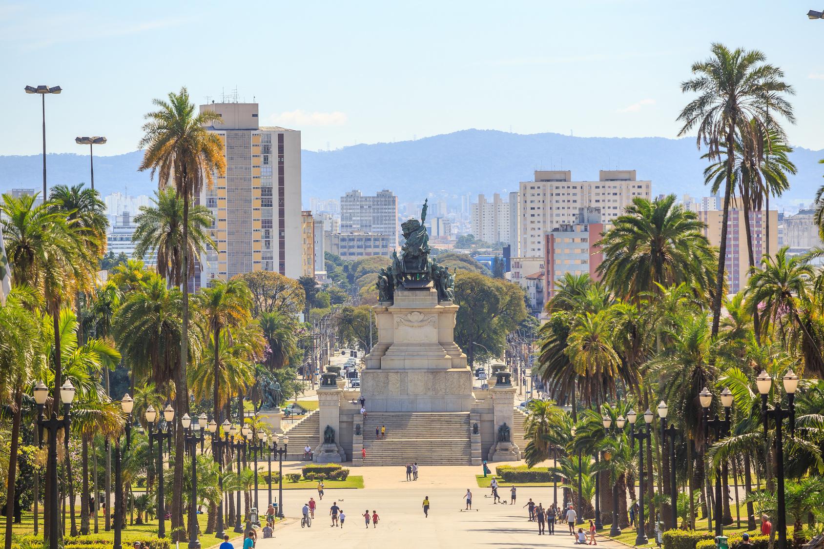Monumento da Intependencia (Unabhängigkeitsdenkmal) in Sao Paulo