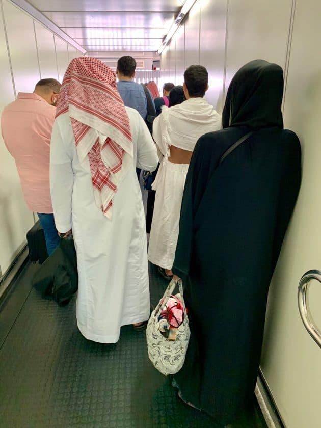 Saudi Arabien Kleidung