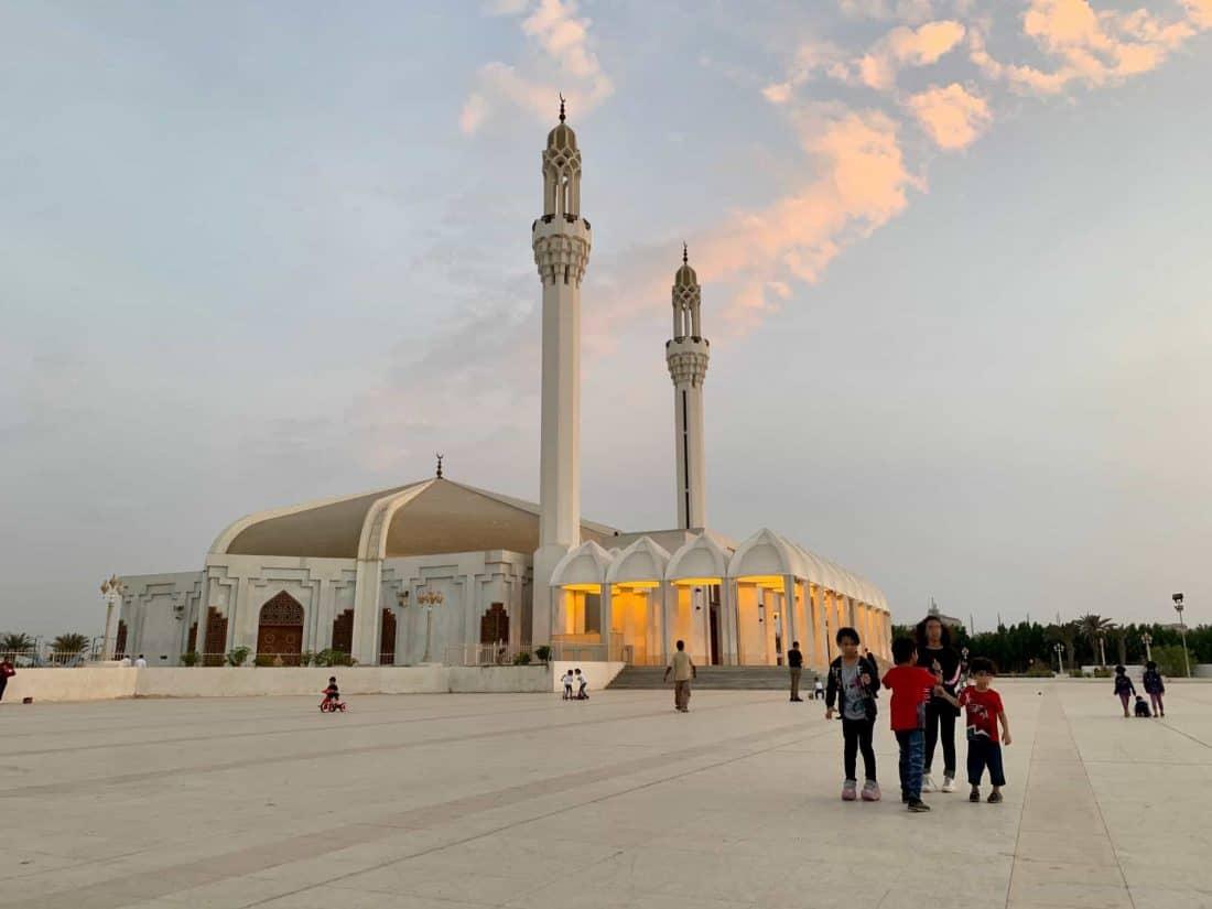 Saudi Arabien Moschee