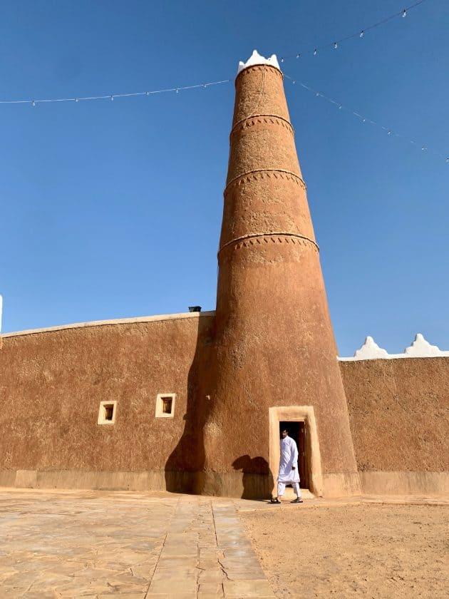 Saudi Arabien Turm alt
