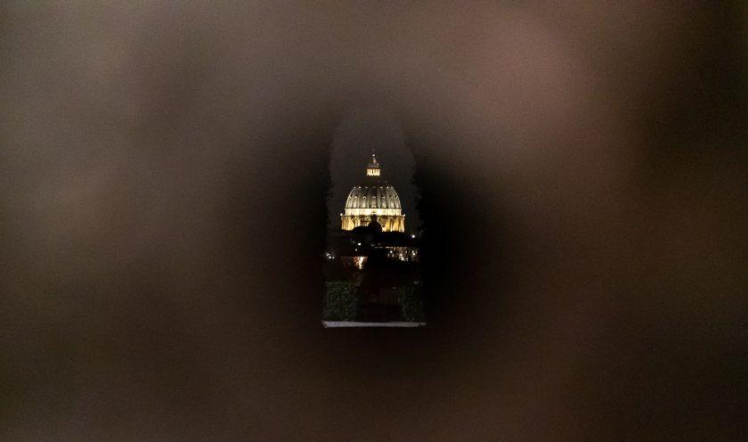 Schlüsselloch Peterdom Rom