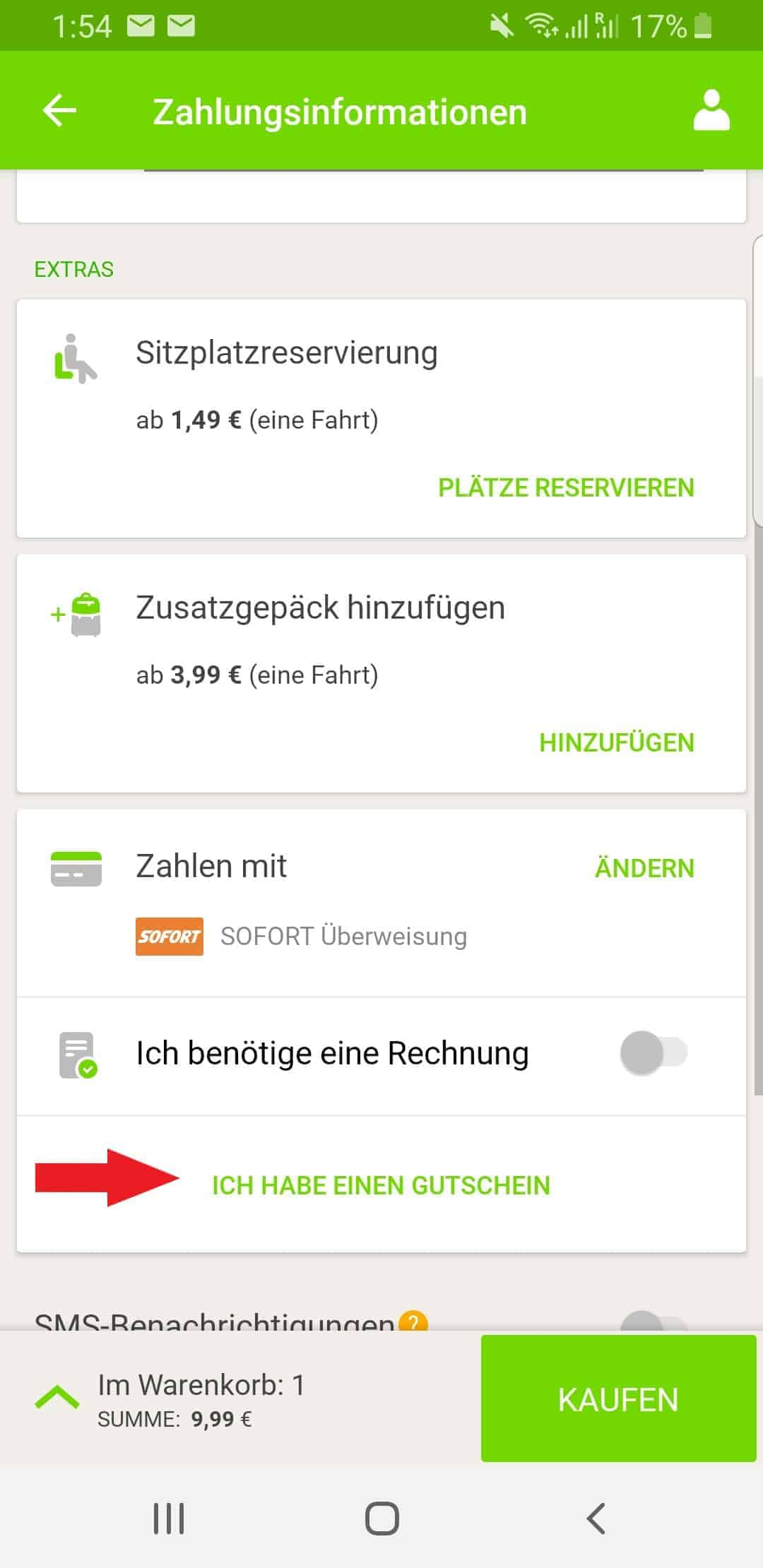 gutscheincode flixbus österreich