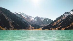 See bei Almaty Kasachstan