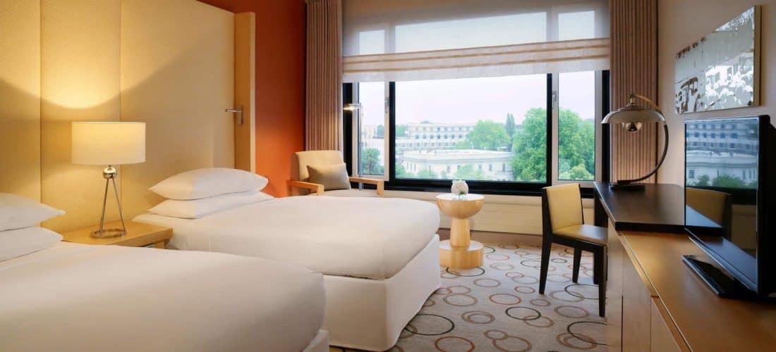 Sheraton Berlin Grand Hotel Esplanade Zimmer
