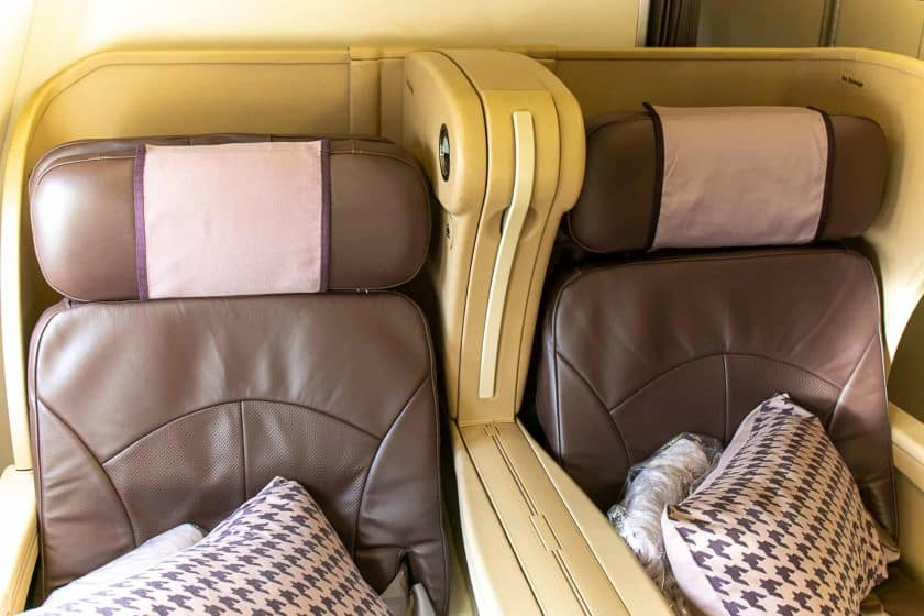 Singapore Airlines A330 Business Class Seats