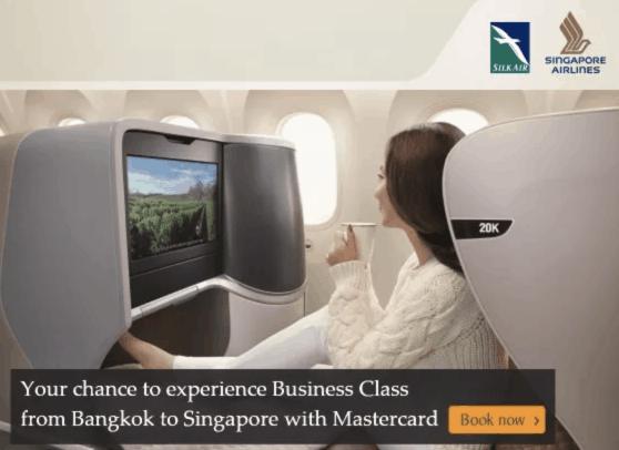 Singapore Airlines BKK SIN Upgrade