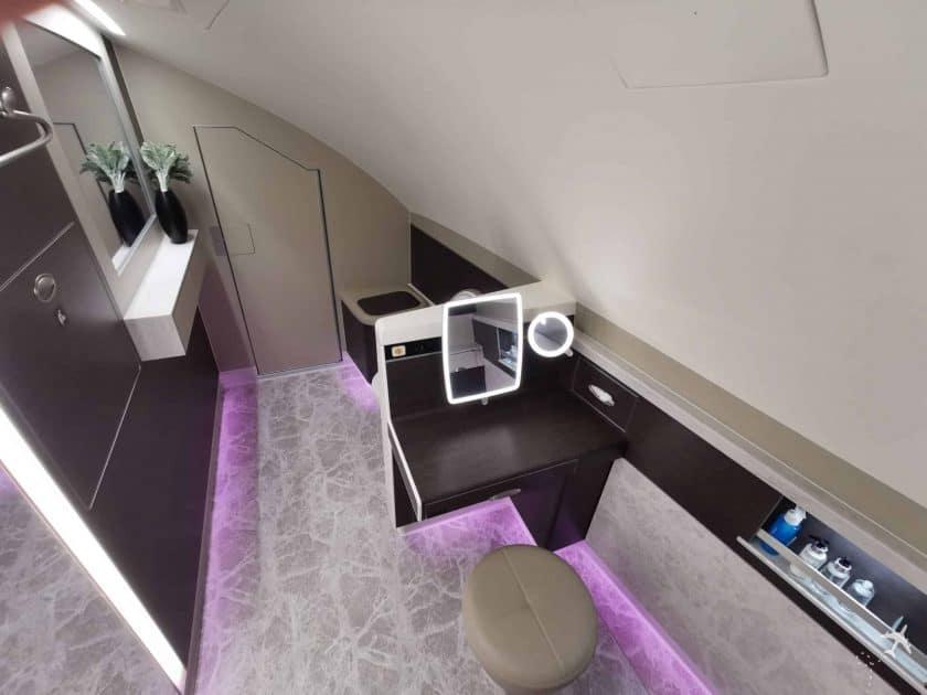 Singapore Suite PVG SIN Badezimmer