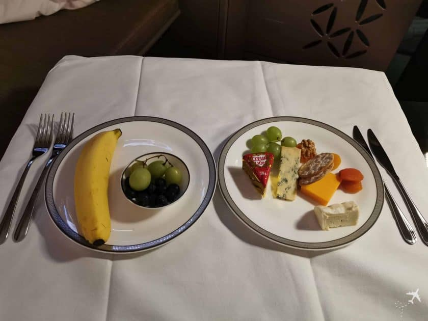 Singapore Suite PVG SIN Obst Kaese