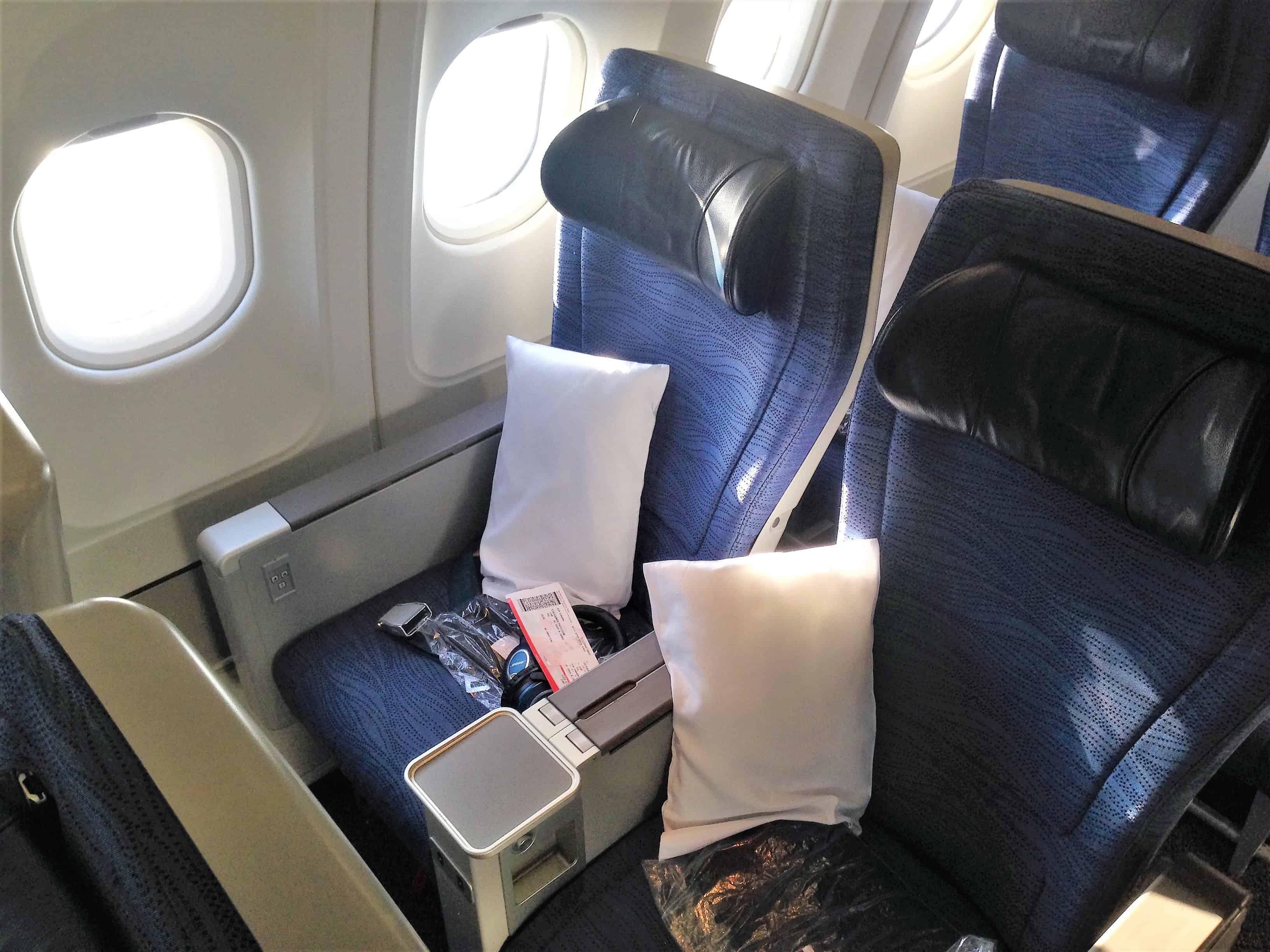 Premium Eco Sitz Air Canada