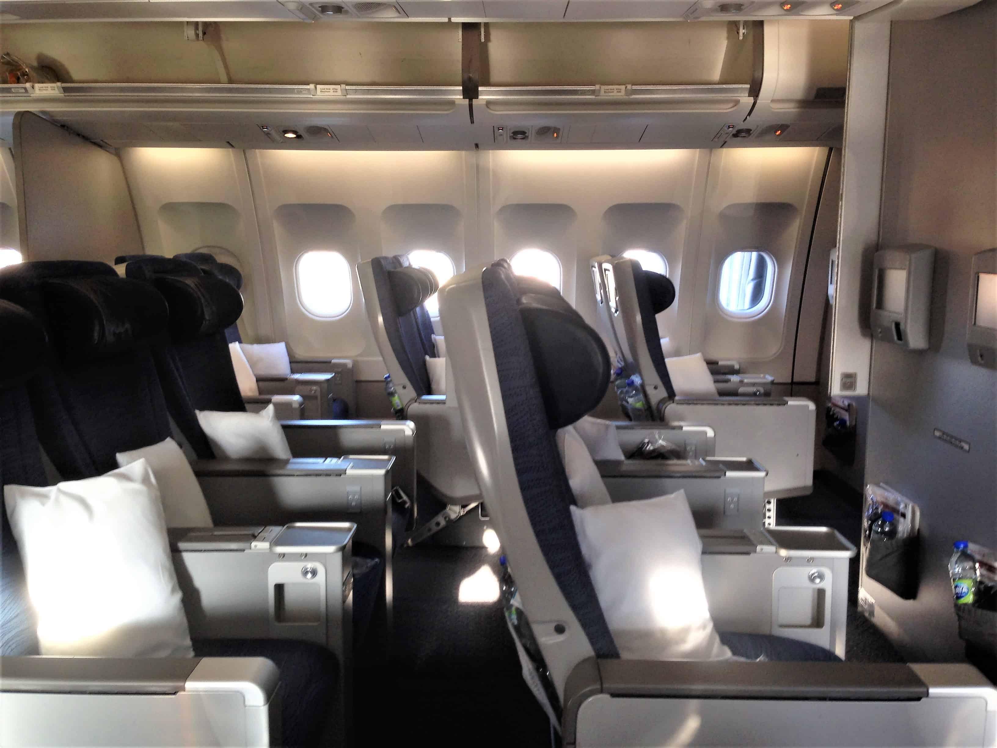 Sitzabstand Premium Eco Air Canada