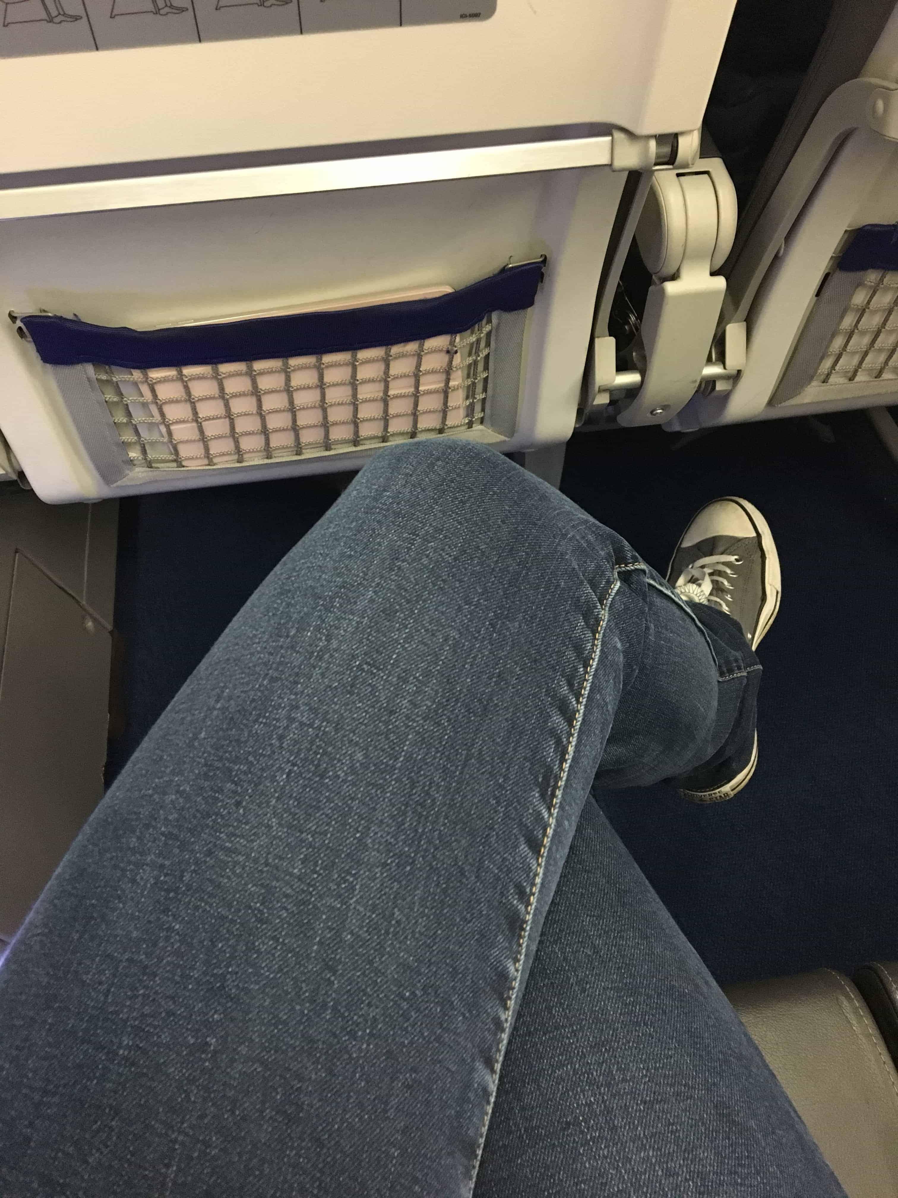 Lufthansa Sitzabstand Exit Row