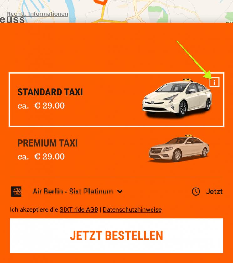 Sixt Ride Gutschein Anleitung