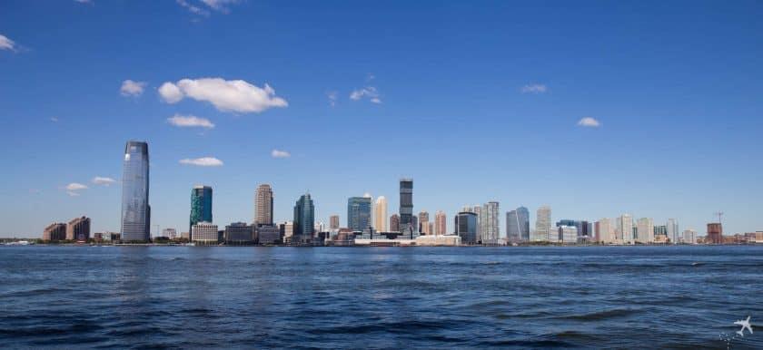 Skyline Newport, New York, USA