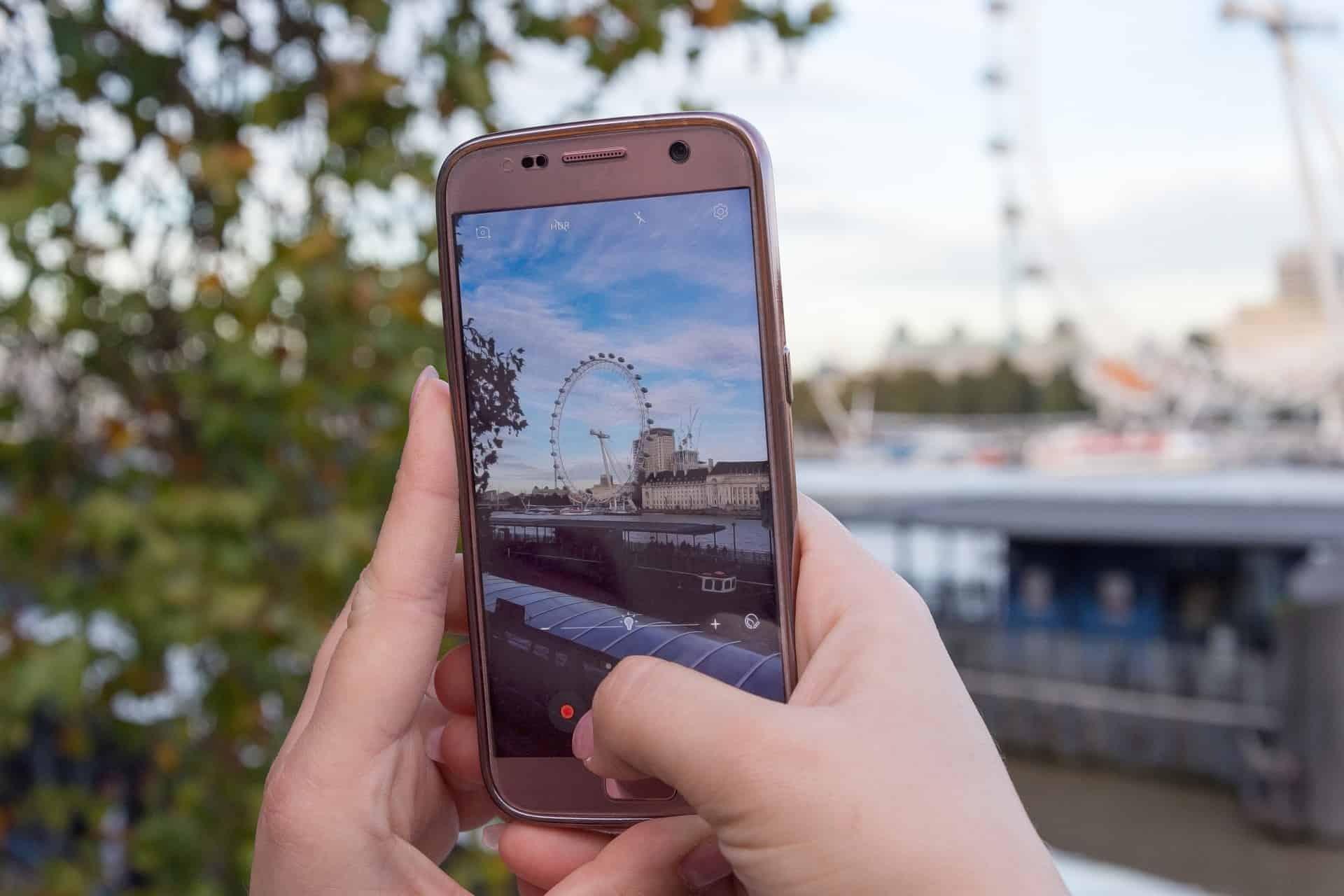 Smartphone-London