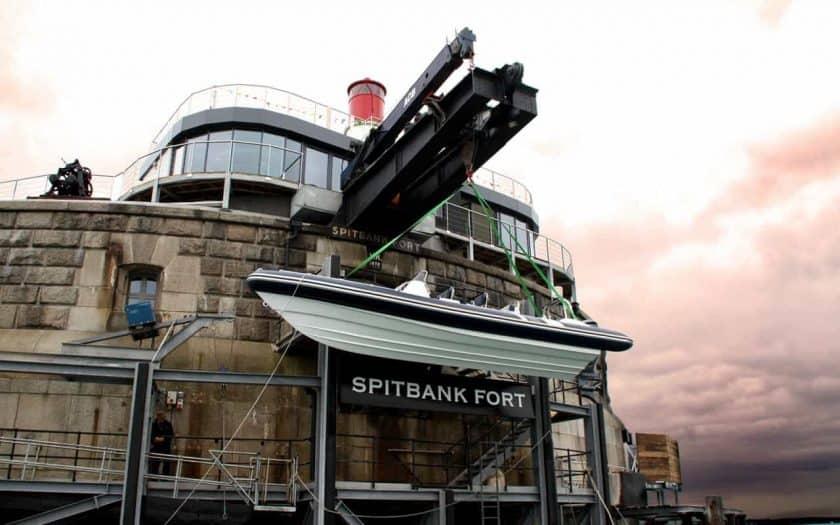 Spitbank Fort Aussenansicht