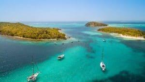 Mayreau Beach, St. Vincent und die Grenadinen