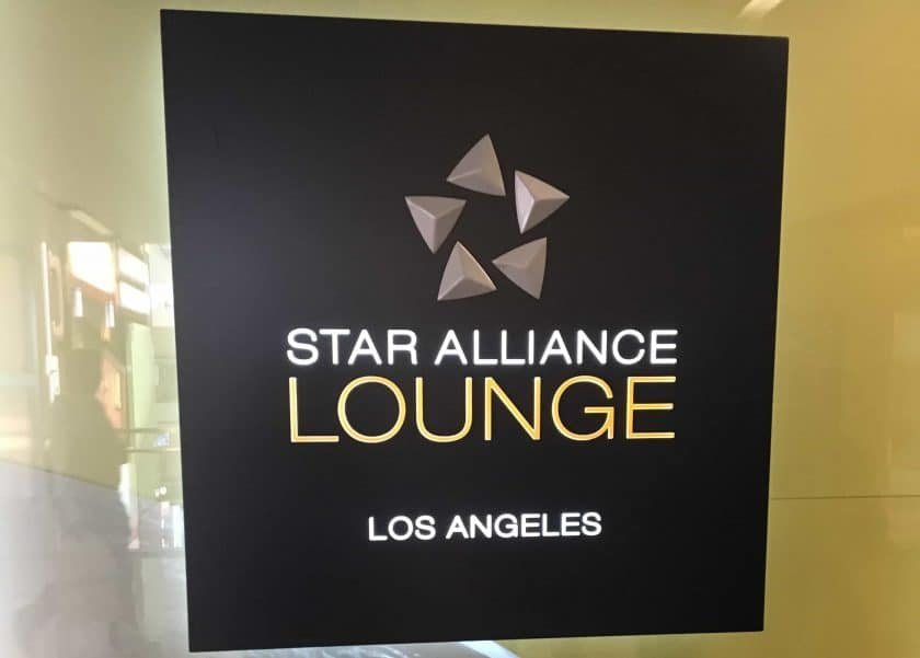 Star Alliance Lounge LAX