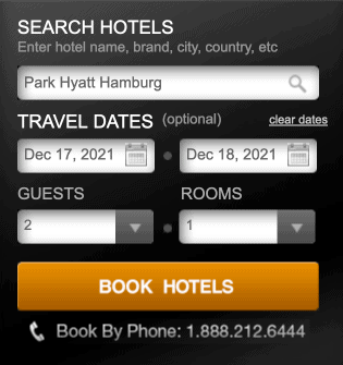 Step 1 How to book hyatt prive