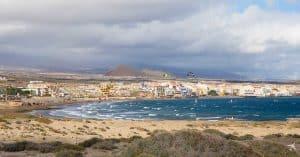 Playa de Montaña Roja, Teneriffa