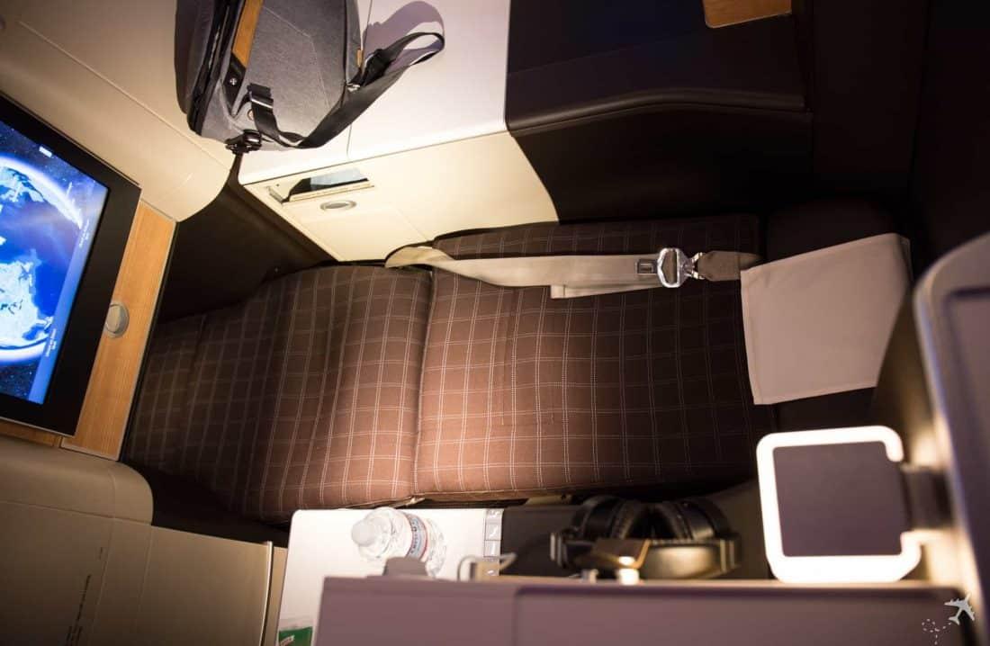 Swiss Boeing 777 Business Class Lie-flat