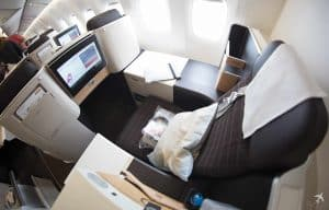 Swiss Boeing 777 Business Class Privacy Seat