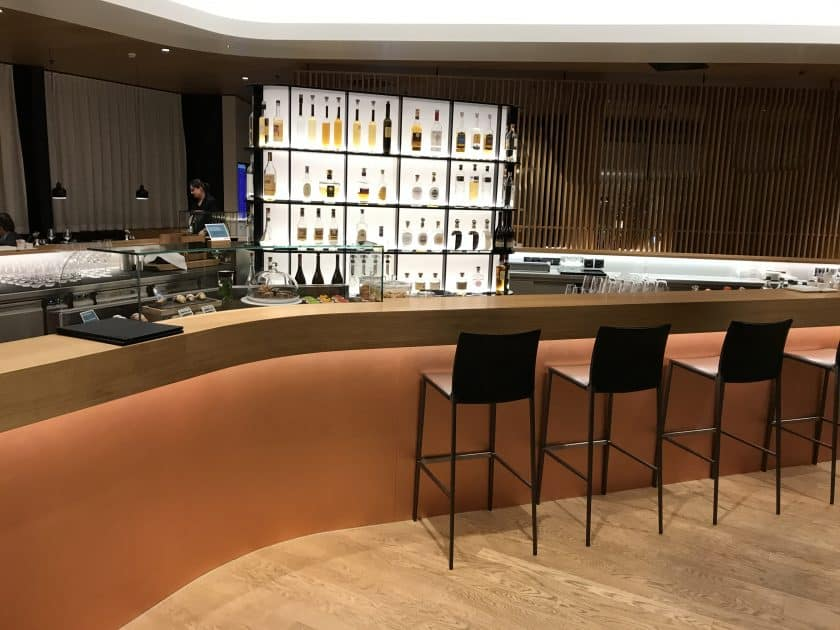 Swiss First Class Review Lounge A Gates 1