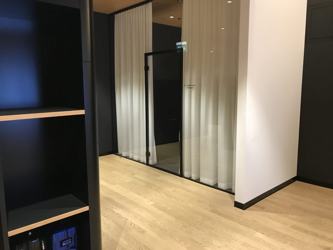 Swiss First Class Review Lounge A Gates Relax Area