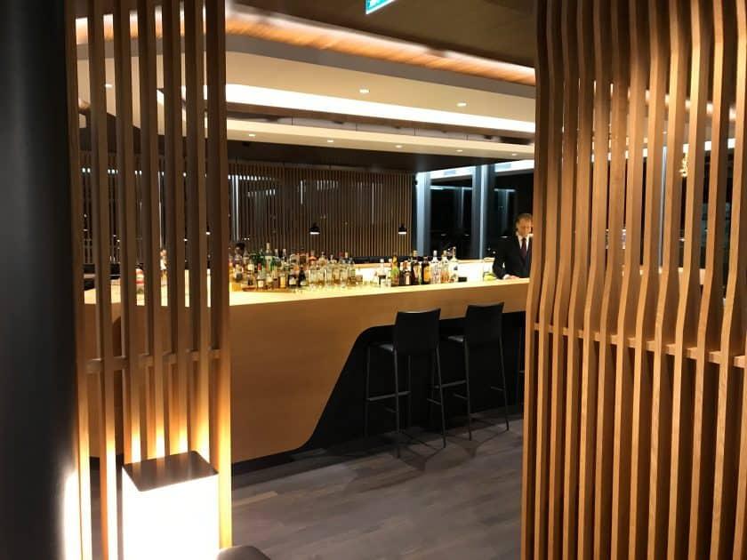 Swiss First Class Review Lounge E Gates