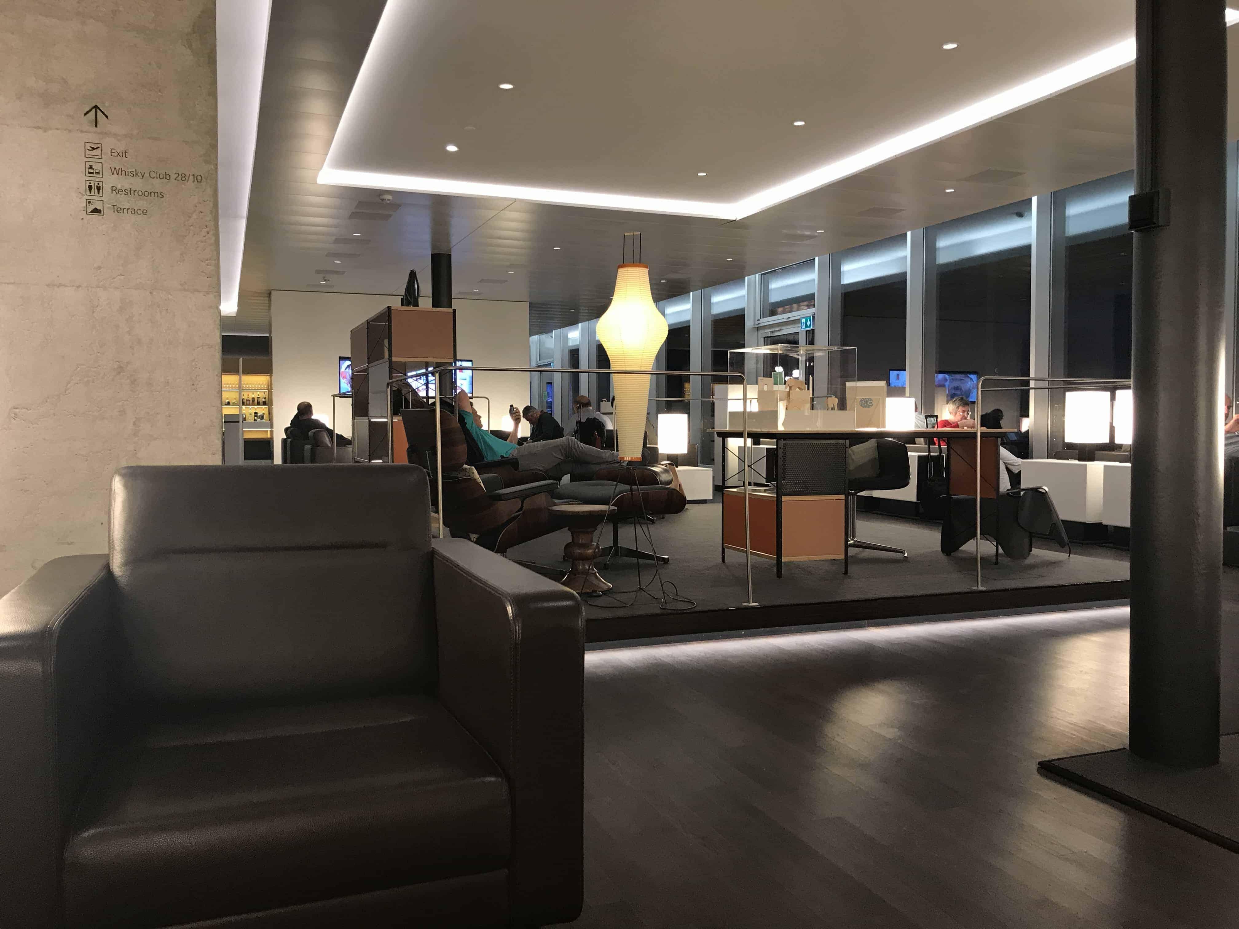 Swiss Lounge ZRH Loungearea
