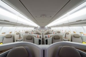 TAP Business Class Kabine Airbus A330 Neo 2