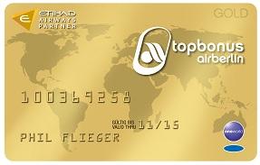 Air Berlin Topbonus Gold Card