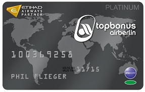 Air Berlin Topbonus Platinum Card