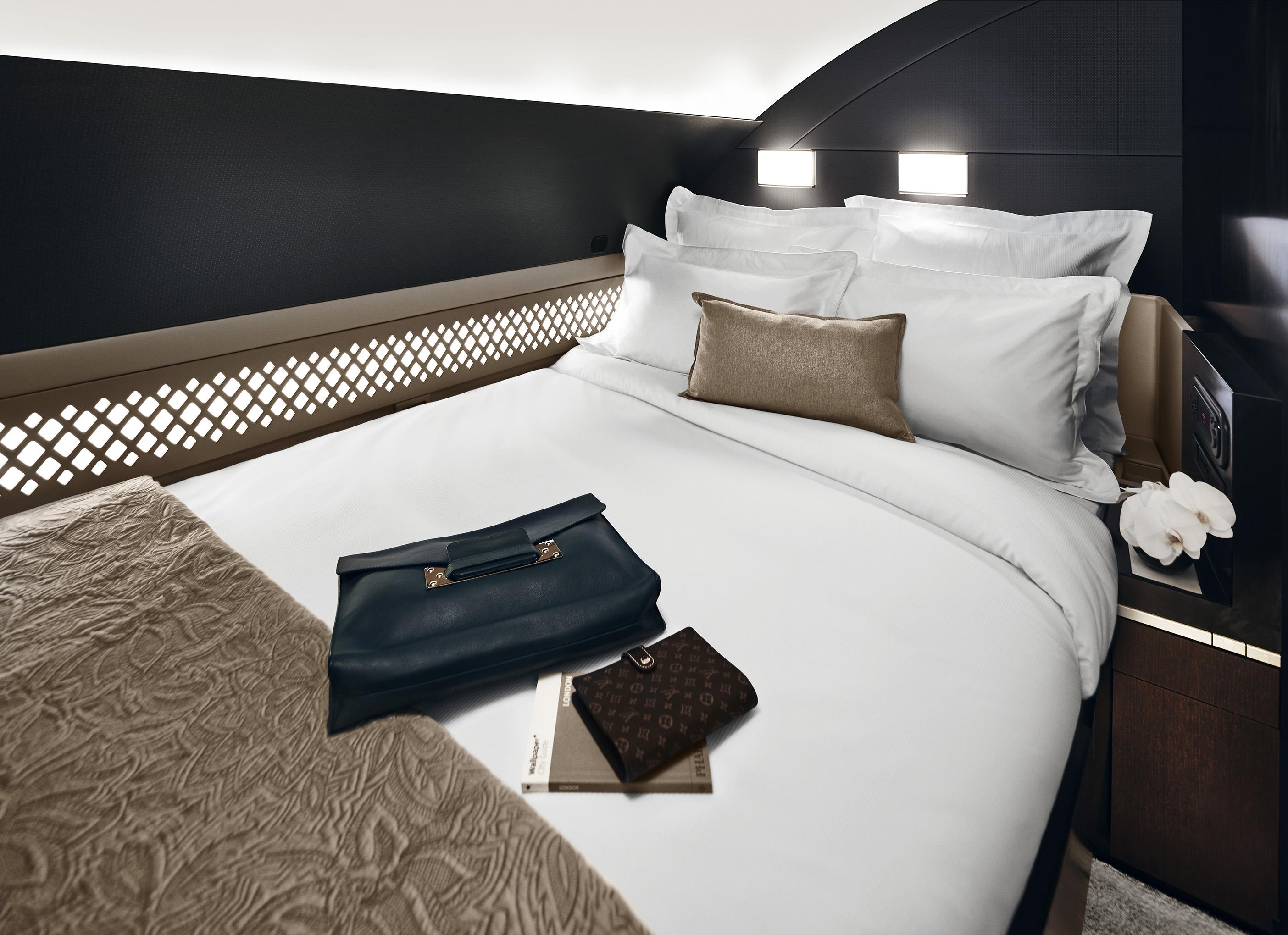Etihad Airways The Residence Schlafzimmer