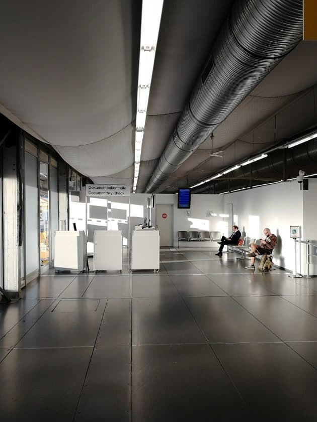 Tegel Terminal C Zelt