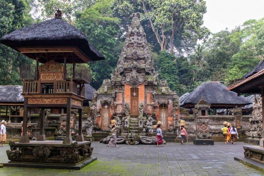 Tempel Monkey Forest Ubud Bali