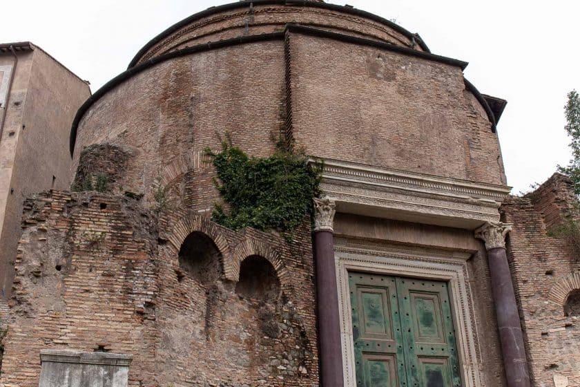 Tempel des Romulus Rom
