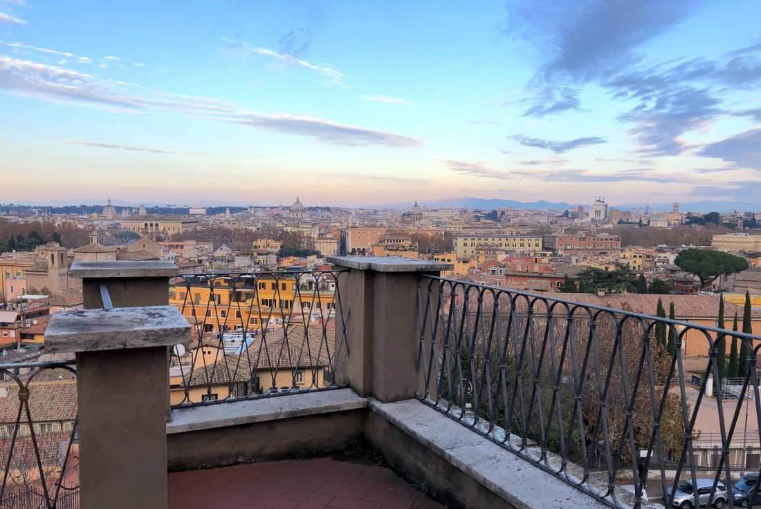 Terrasse Spanische Akademie Rom